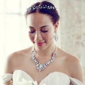 Juliet Statement Necklace (Bridal, Formal, Casual)